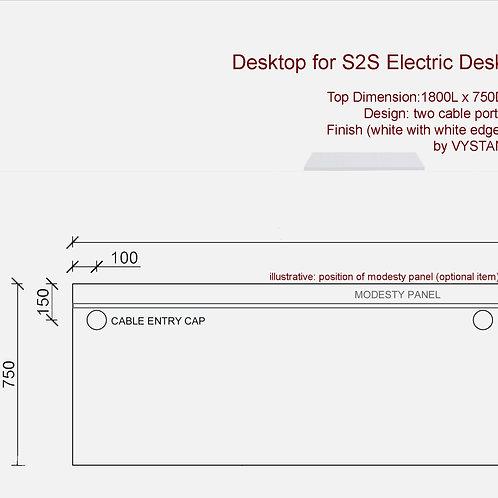 VX S2S Desktop 1875 (white)