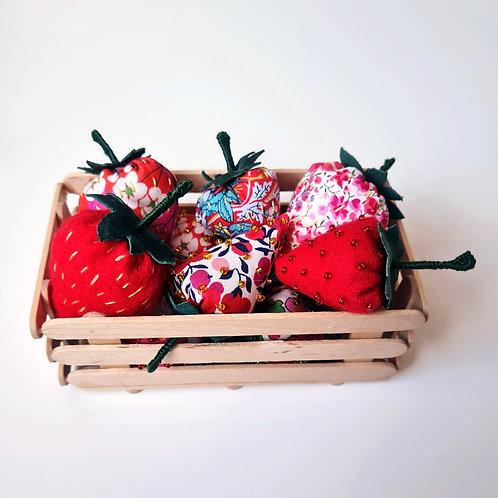 Punnet of strawberries kit