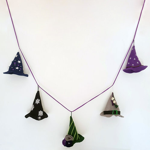 Witches hat garland kit
