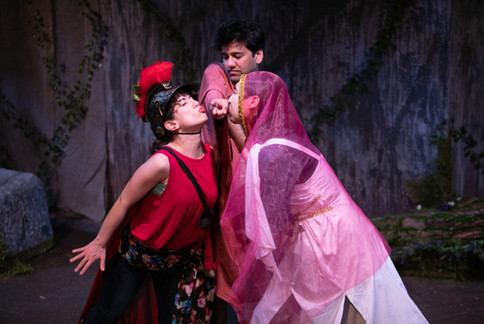 Bottom in A Midsummer Night's Dream with New York Shakespeare Exchange