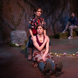 Hermia in A Midsummer Night's Dream with New York Shakespeare Exchange