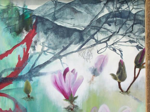 """""""Magnolias"""" (detail shot)"""