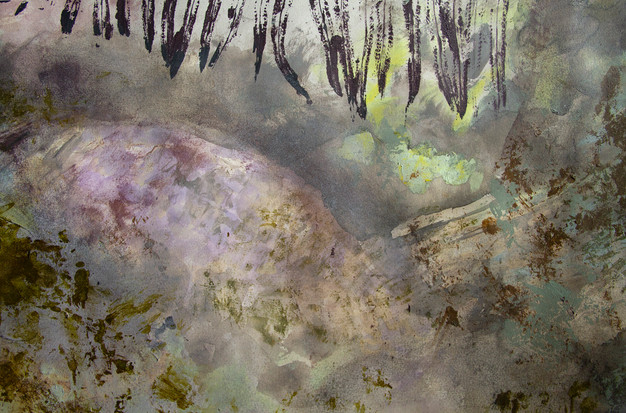 """""""Sea Grotto Surface"""" (detail shot)"""