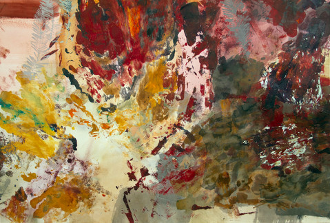 """Mars, Bloodstone, Petrified Conifers"" (detail shot)"