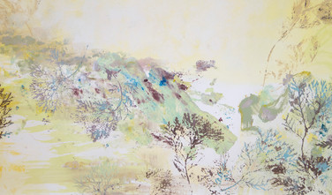 """Antiquity: Reptilian Sanctuary"" (detail shot, right)"