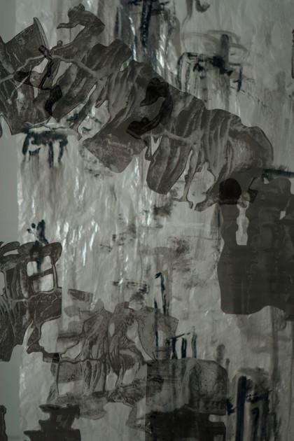 """""""Waterfalls and Angkor"""" (detail shot)"""