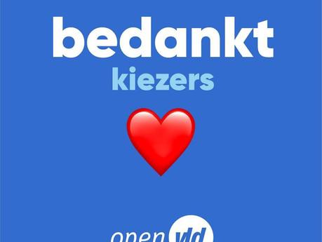 Open Vld Berlare behoudt absolute meerderheid !