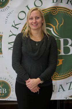 Vadovė-redaktorė Aurelija