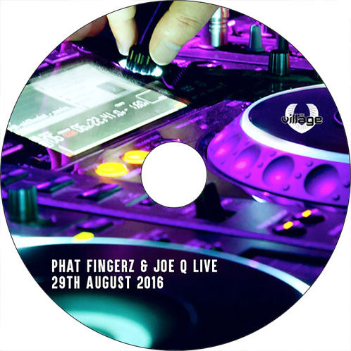Phat Fingerz & Joe Q Live 29.08.16