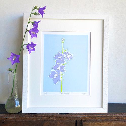 'Campanula' Limited edition, handmade silkscreen print