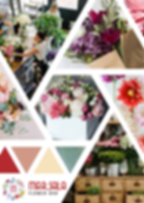 Marsala Flower Bar Moodboard