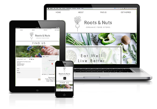Roots & Nuts Mock-Up