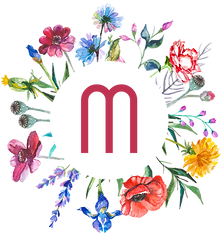 Marsala Flower Bar Logo