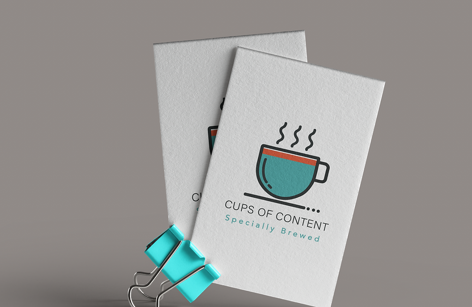 Cups Of Content Business Cards
