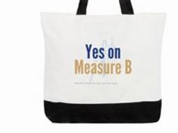 Yes on Measure B Tote Bag