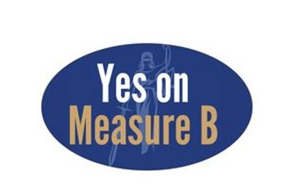Yes on Measure B Bumper Sticker