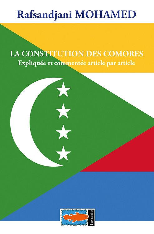 LA CONSTITUTION DES COMORES - Rafsandjani MOHAMED
