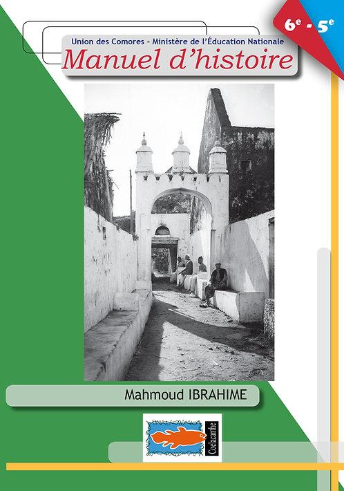 MANUEL D'HITOIRE 6e 5e - Mahmoud Ibrahime