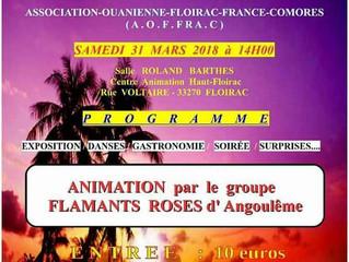 Journée culturelle comorienne à Floirac