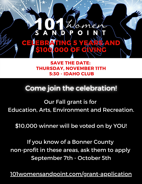 101 Women Sandpoint Fall 2021 Grant Cycle.png