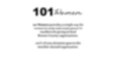 101 Women Sandpoint Description