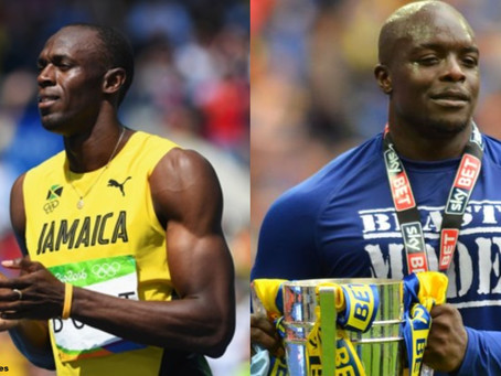 If Akinfenwa Could Do It, Usain Bolt Can.