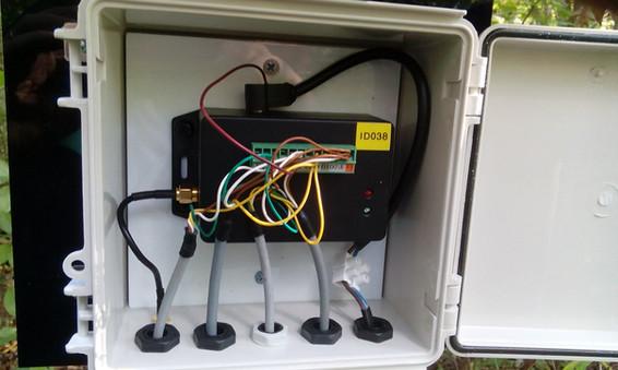 Mini IoT datalogger with different sensor