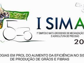 1º Simpósio Mato-grossense de Mecanização agrícola e Agricultura de Precisão (1° SIMAP)