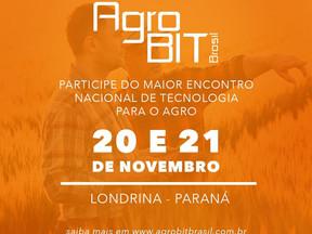 MONAGRI palestrará no maior evento nacional de tecnologia para o AGRO