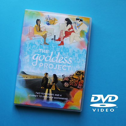 The Goddess Project DVD (English)