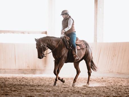 Wonderwoman on Horseback