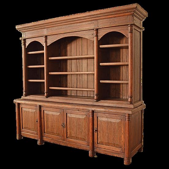 Elite Rustic Bookcase