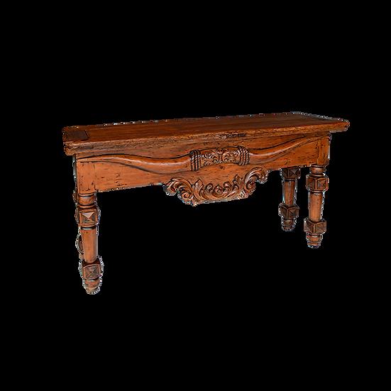 Hand-Carved Longhorn Credenza