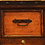 Thumbnail: Standing Three Drawer Copper Filing Cabinet