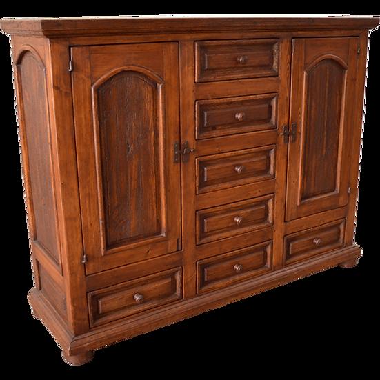 Elite Rustic Solid Wood Cabinet
