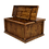 Thumbnail: Rustic Coffee Table with Hinged Top