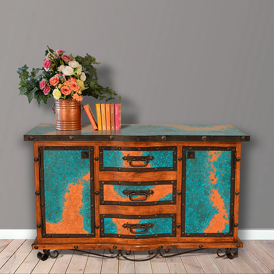 Turquoise Copper Buffet