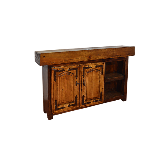 Custom Timber Console with Rack