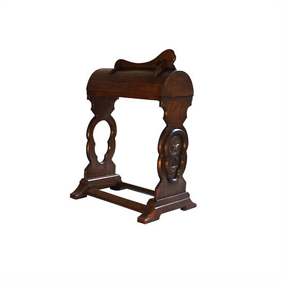 Carved Saddle Stand