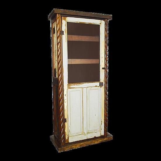 Original Old Door Cabinet