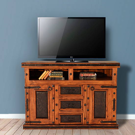Leather TV Dresser