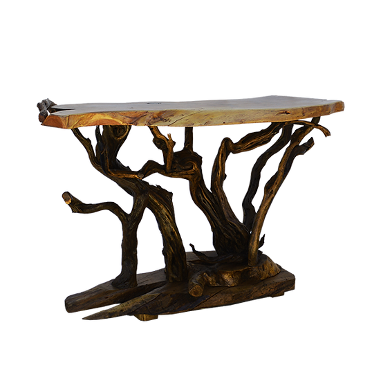 Tree Trunk Console