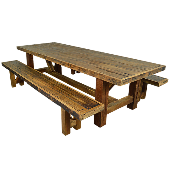 Solid Wood Tequila Patio Dining Set