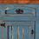 Thumbnail: Blue Wash Three Drawer Console/Buffet