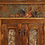 Thumbnail: Three Level Kitchen Island with Tin Inlays in Doors