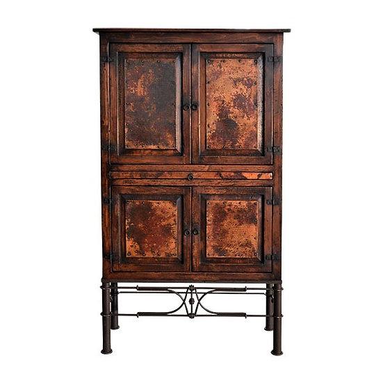 Copper Door Wine Armoire/Cabinet