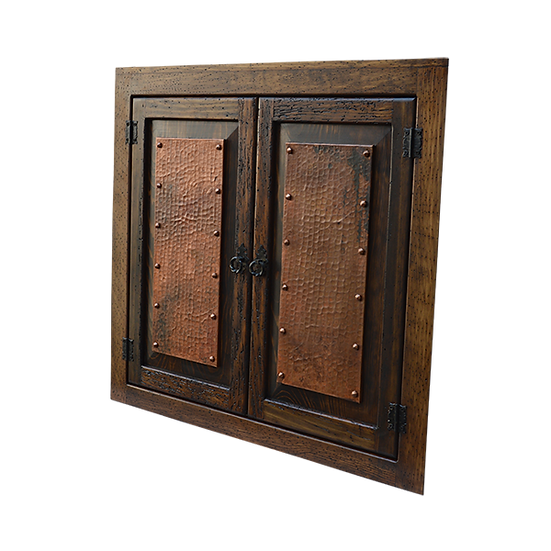 Copper Wall Vanity/Cabinet