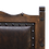 Thumbnail: Tooled Leather Bench