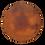 Thumbnail: Round Copper Top Pub Table