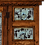 Thumbnail: Rustic Buffet with Turquoise Tin Panels